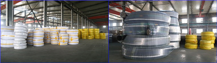 packaging of hose for drilling rig