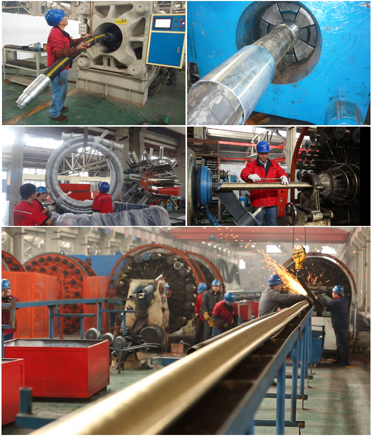 Rotary Decoking Hose Production