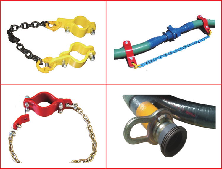 Safety Clamps & Chain