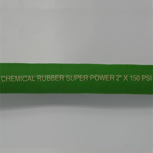 UHMWPE Chemical S/D Hose (125-200)PSI